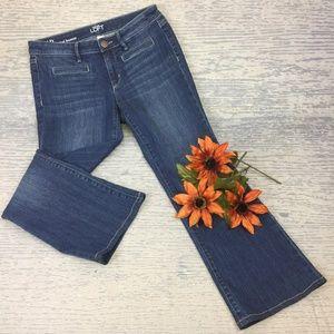 Ann Taylor original bootcut jean